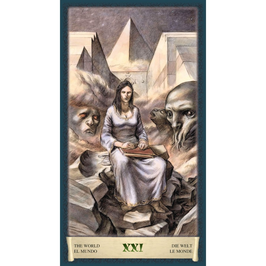 Dark Grimoire Tarot 7
