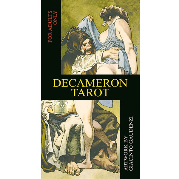Decameron Tarot cover
