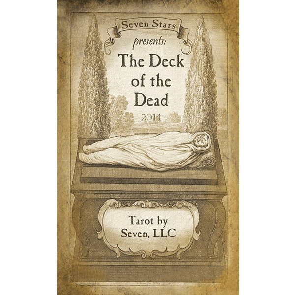 Deck of the Dead Tarot cover