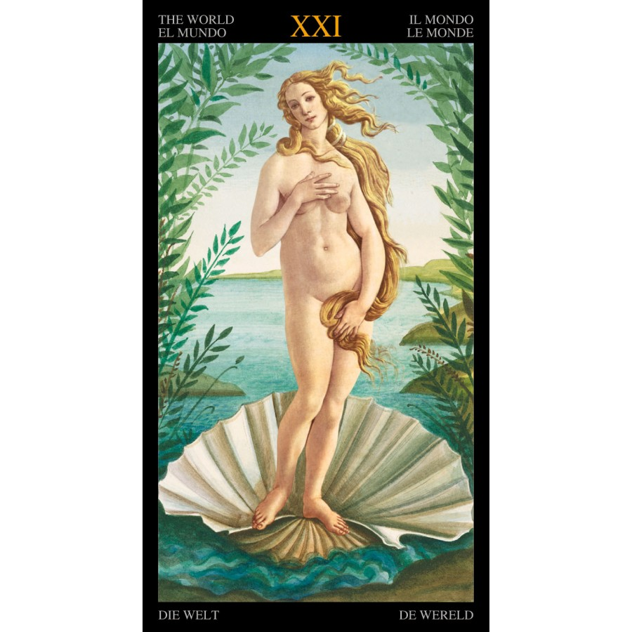 Golden Botticelli Tarot 11