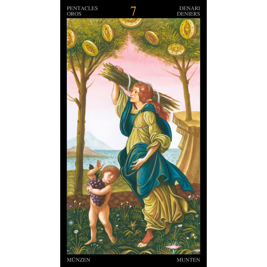 Golden Botticelli Tarot 2