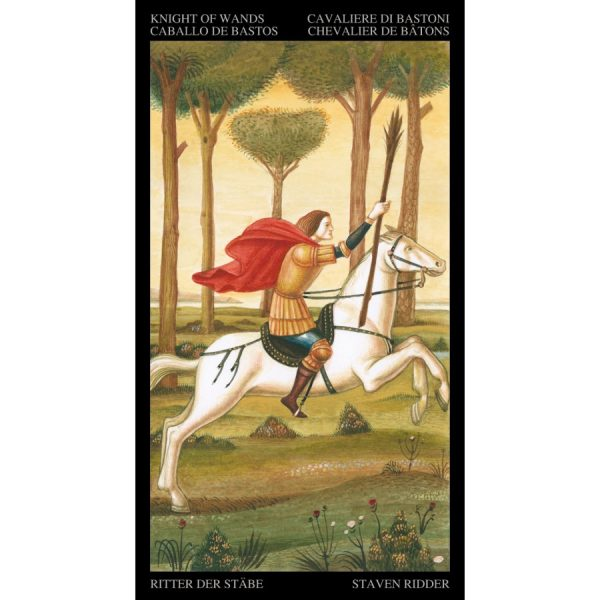 Golden Botticelli Tarot 3