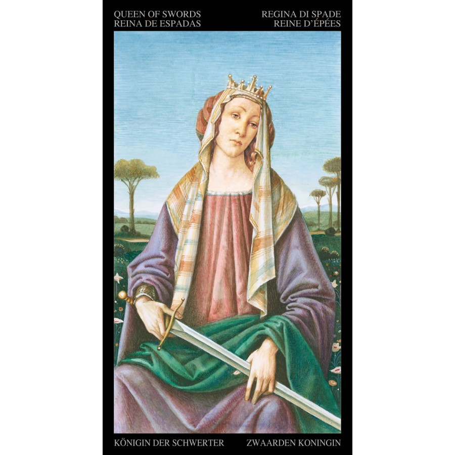 Golden Botticelli Tarot 4