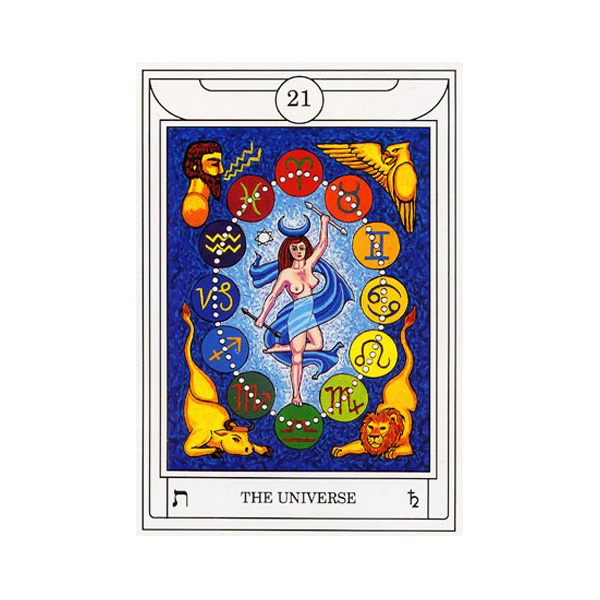 Golden Dawn Magical Tarot 5