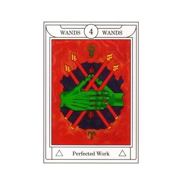 Golden Dawn Magical Tarot 7