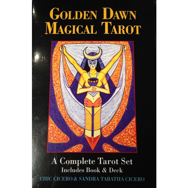 Golden Dawn Magical Tarot cover