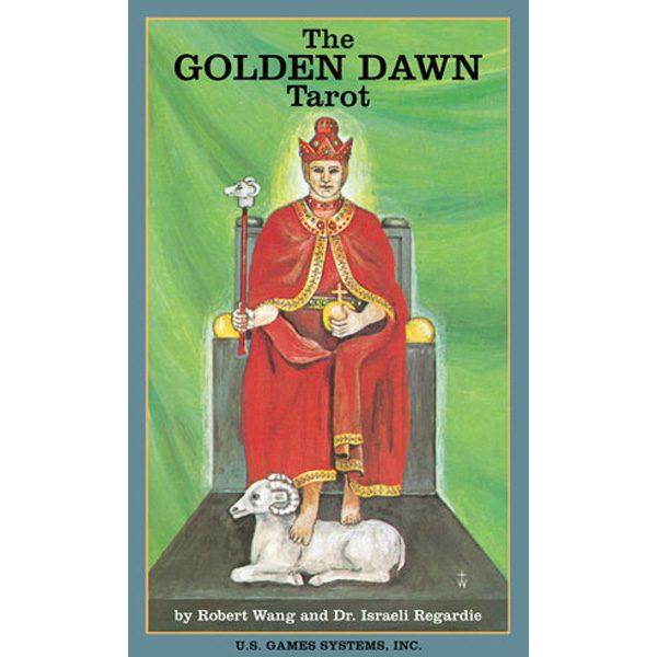Golden Dawn Tarot cover