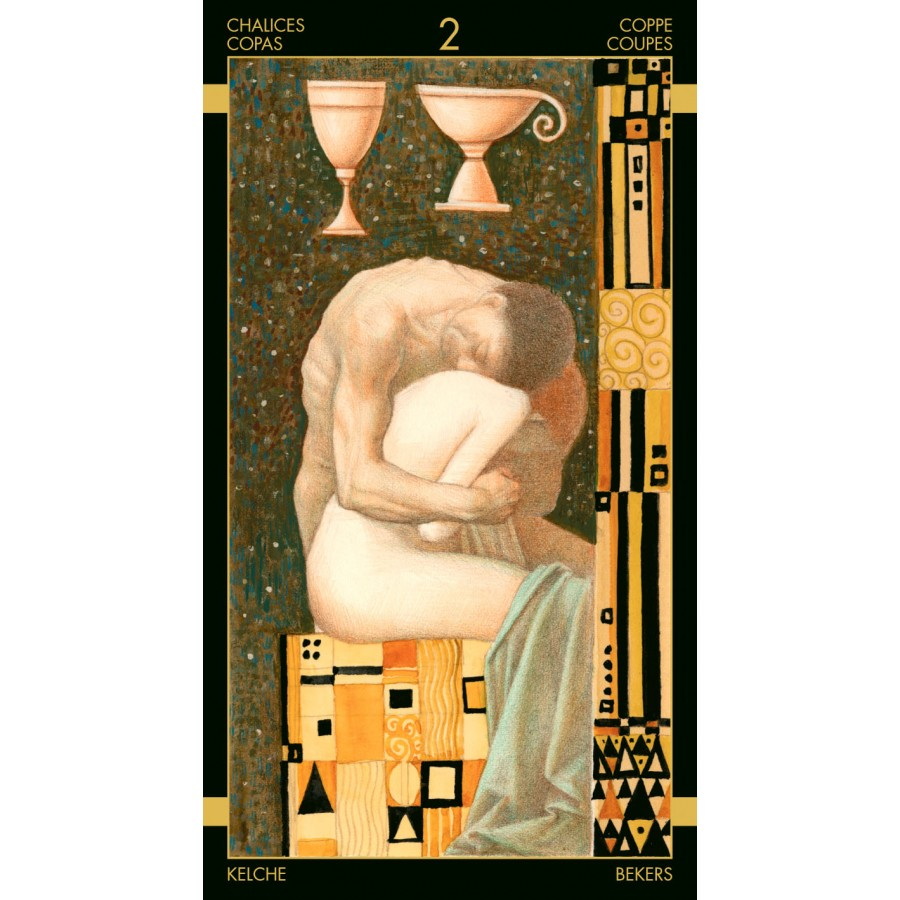 Golden Tarot of Klimt 1