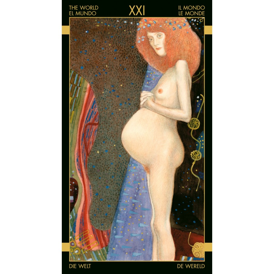Golden Tarot of Klimt 11