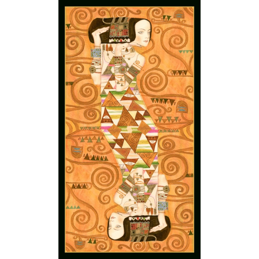 Golden Tarot of Klimt 12