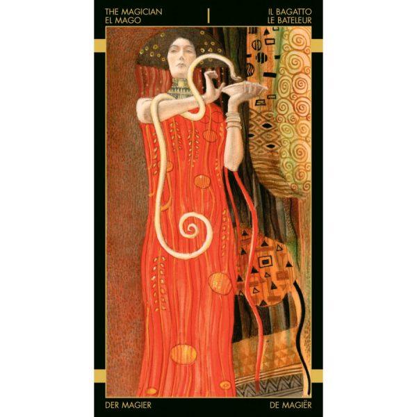 Golden Tarot of Klimt 5