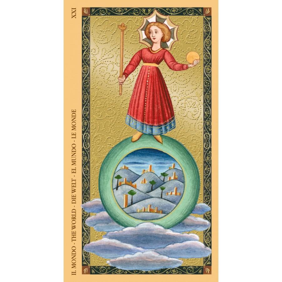 Golden Tarot of Renaissance (Estensi Tarot) 11