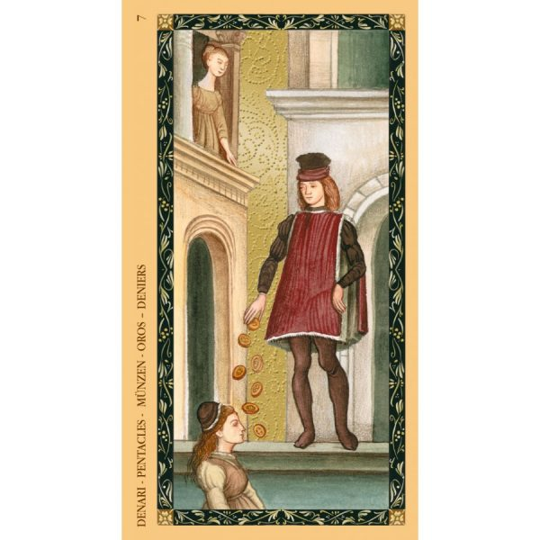 Golden Tarot of Renaissance (Estensi Tarot) 2