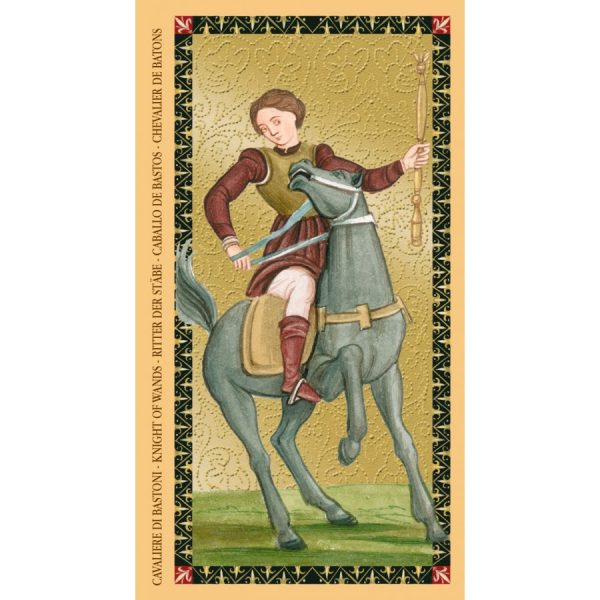 Golden Tarot of Renaissance (Estensi Tarot) 3