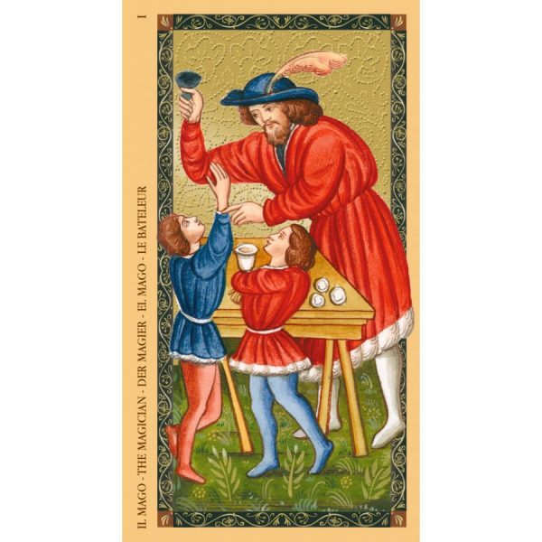 Golden Tarot of Renaissance (Estensi Tarot) 5