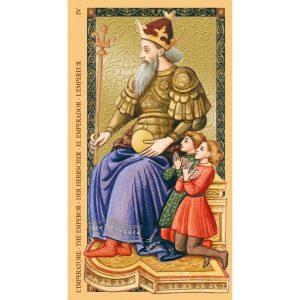 Golden Tarot of Renaissance (Estensi Tarot) 10