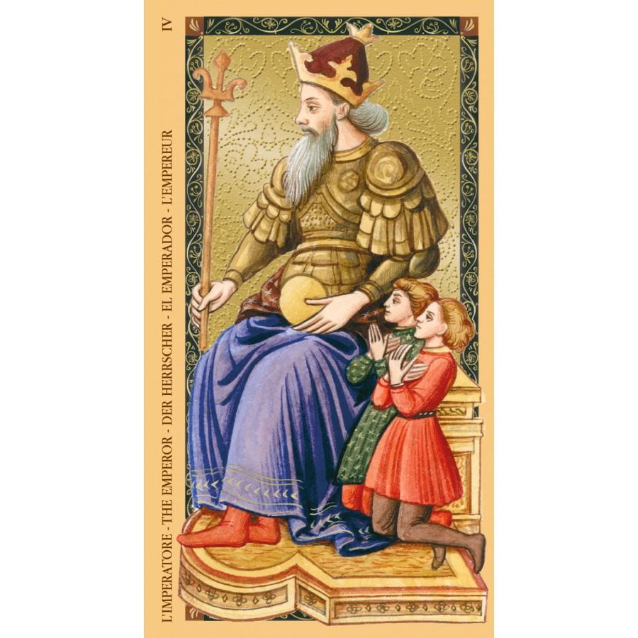 Golden Tarot of Renaissance (Estensi Tarot) 9