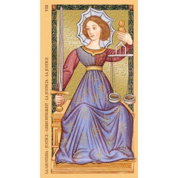Golden-Tarot-of-Renaissance-Estensi-Tarot-7