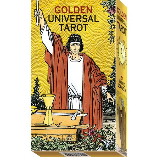 Golden Universal Tarot 52