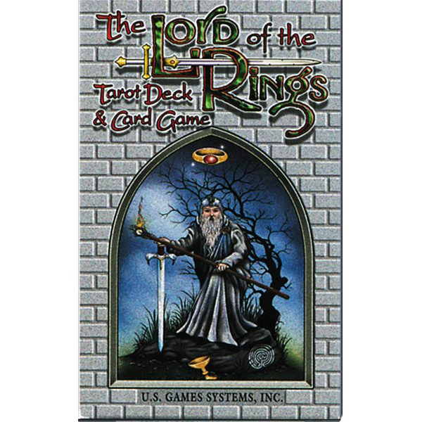 Lord of the Rings Tarot cover