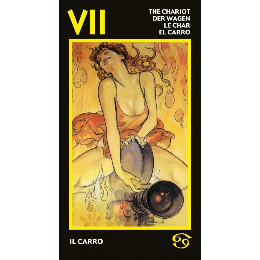 Manara Erotic Tarot 13