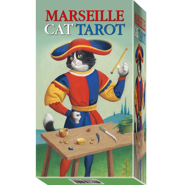 Marseille Cat Tarot 9