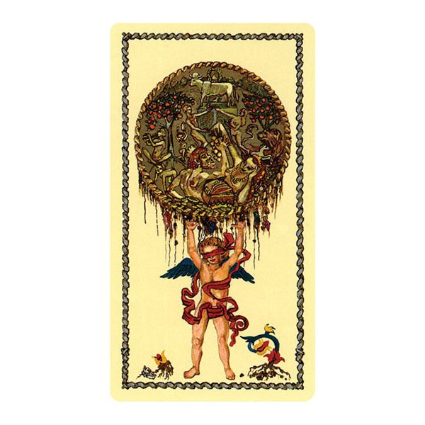 Medieval Scapini Tarot 6