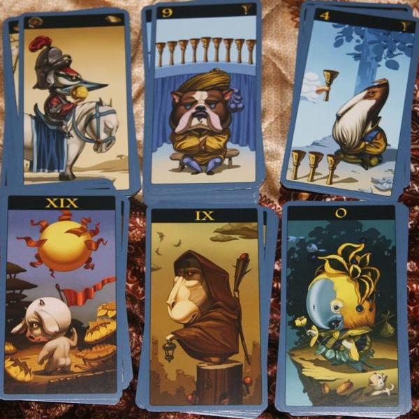 Mibramig Magical Tarot 6