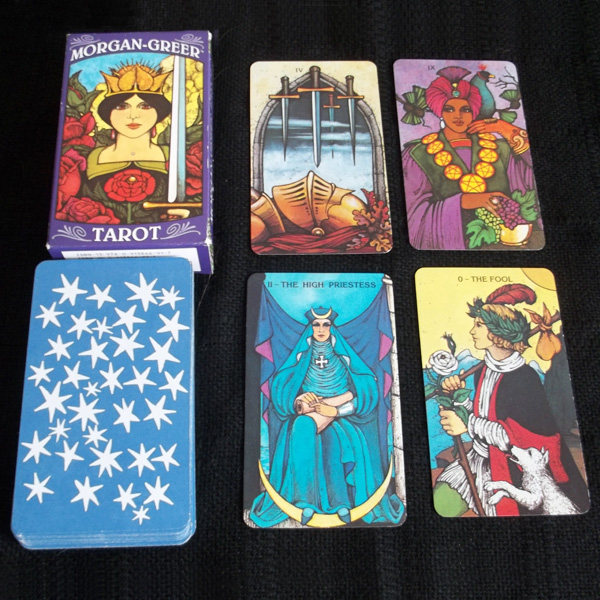 Morgan-Greer Tarot 8