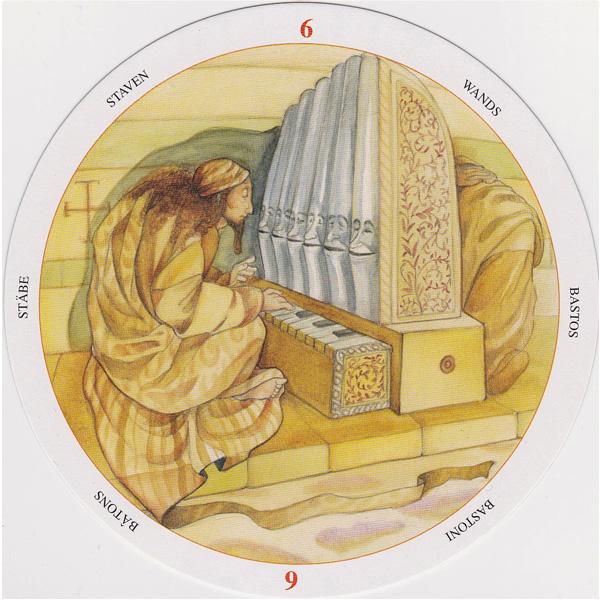 Motherpeace Round Tarot 3