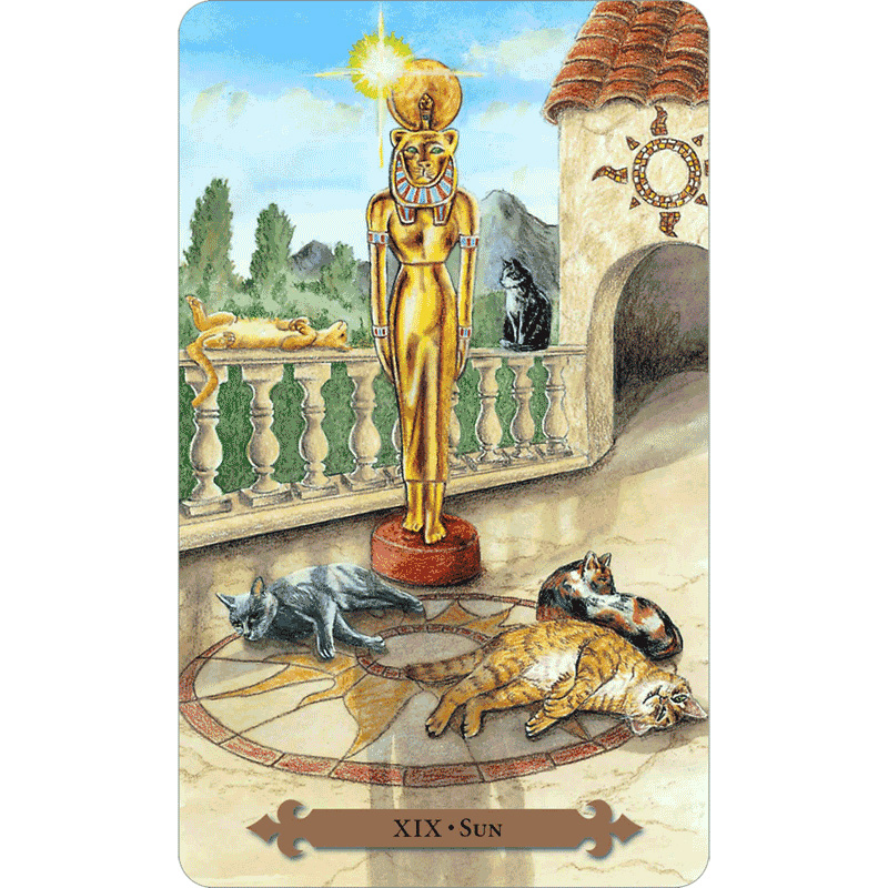Mystical Cats Tarot 3