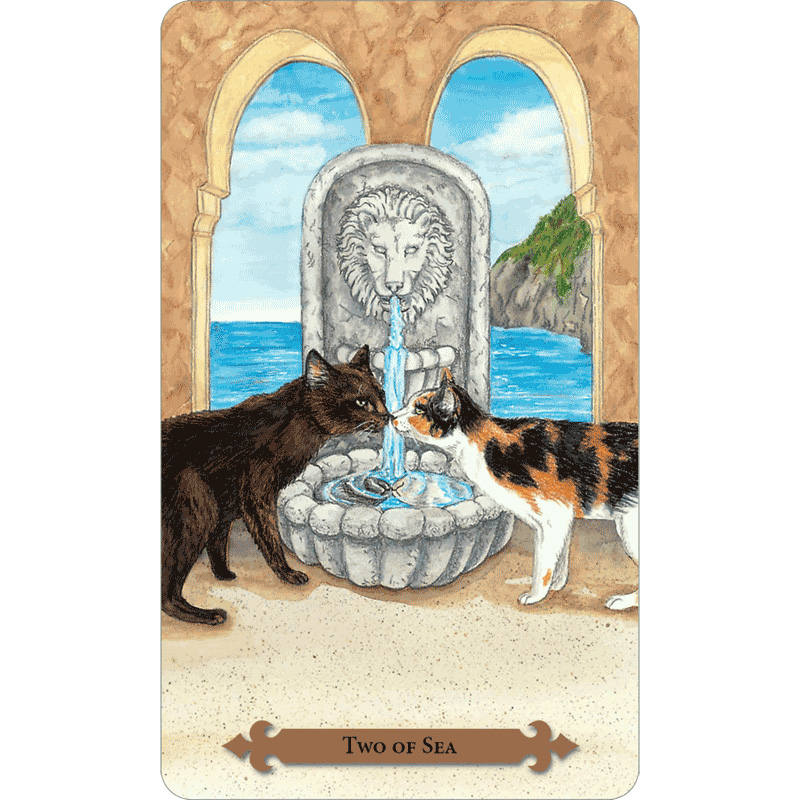 Mystical Cats Tarot 5