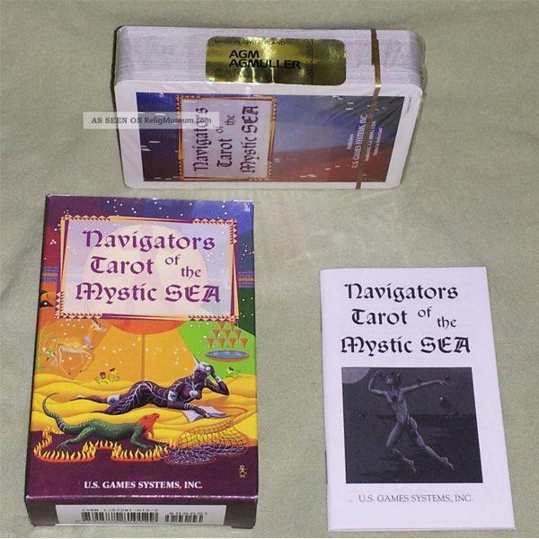 Navigators Tarot of the Mystic Sea 8