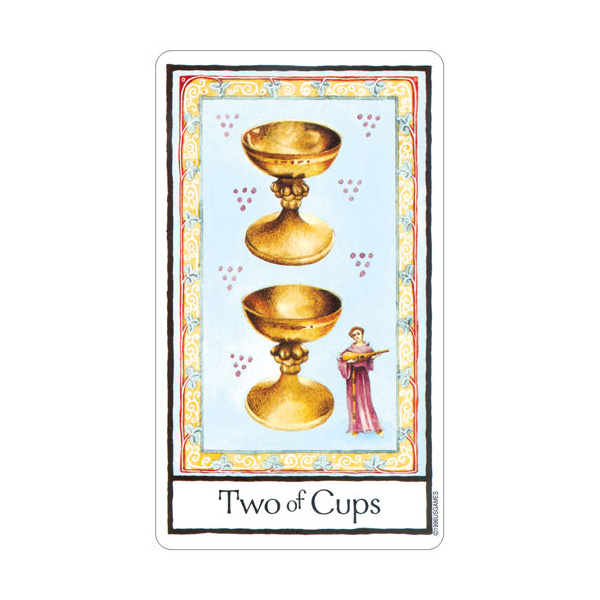 Old English Tarot 3
