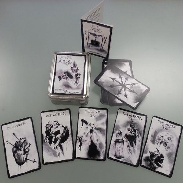 Ritual Abuse Tarot 18