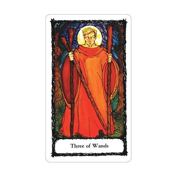 Sacred Rose Tarot 4