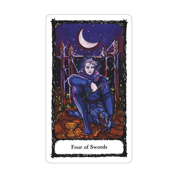 Sacred Rose Tarot 5