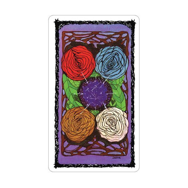 Sacred Rose Tarot 7