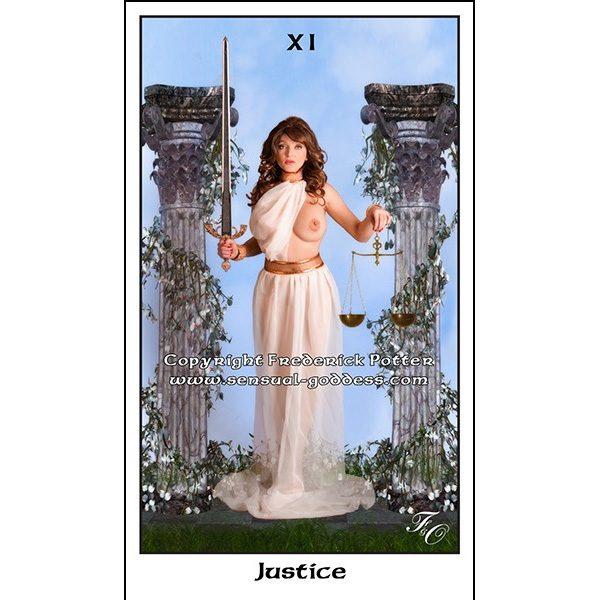 Sensual Goddess Tarot 8