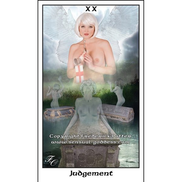 Sensual Goddess Tarot 9