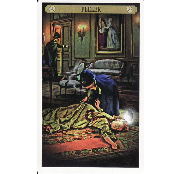 Sherlock Holmes Tarot 5