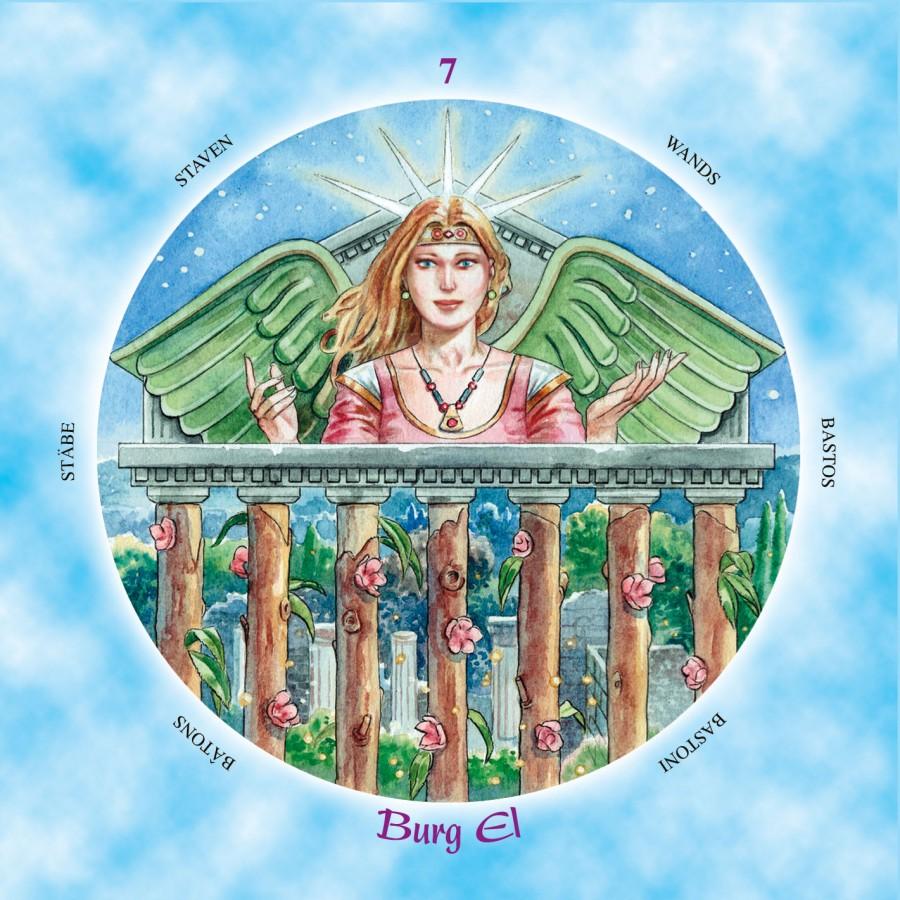 Shining Angels Tarot 1