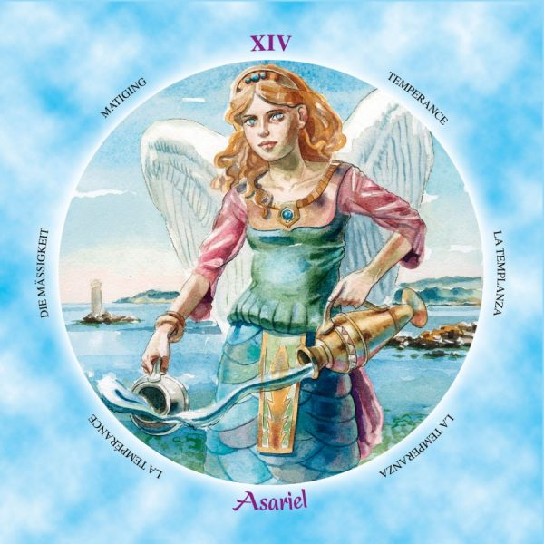 Shining Angels Tarot 3