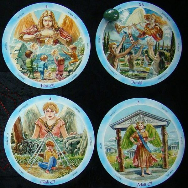 Shining Angels Tarot 6