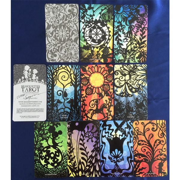 Silhouettes Tarot 7