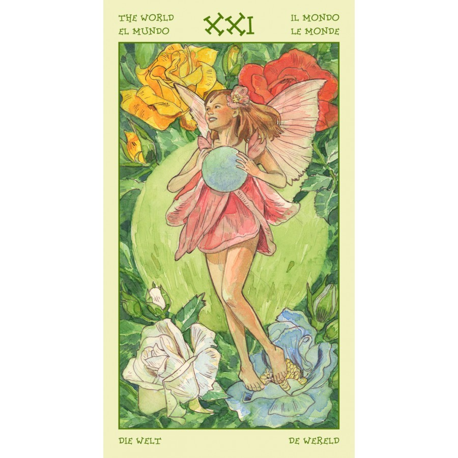 Spirit of Flowers Tarot 11