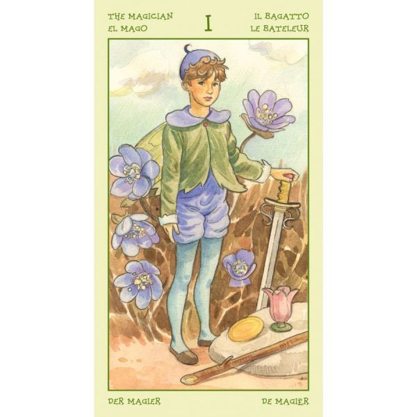 Spirit of Flowers Tarot 5