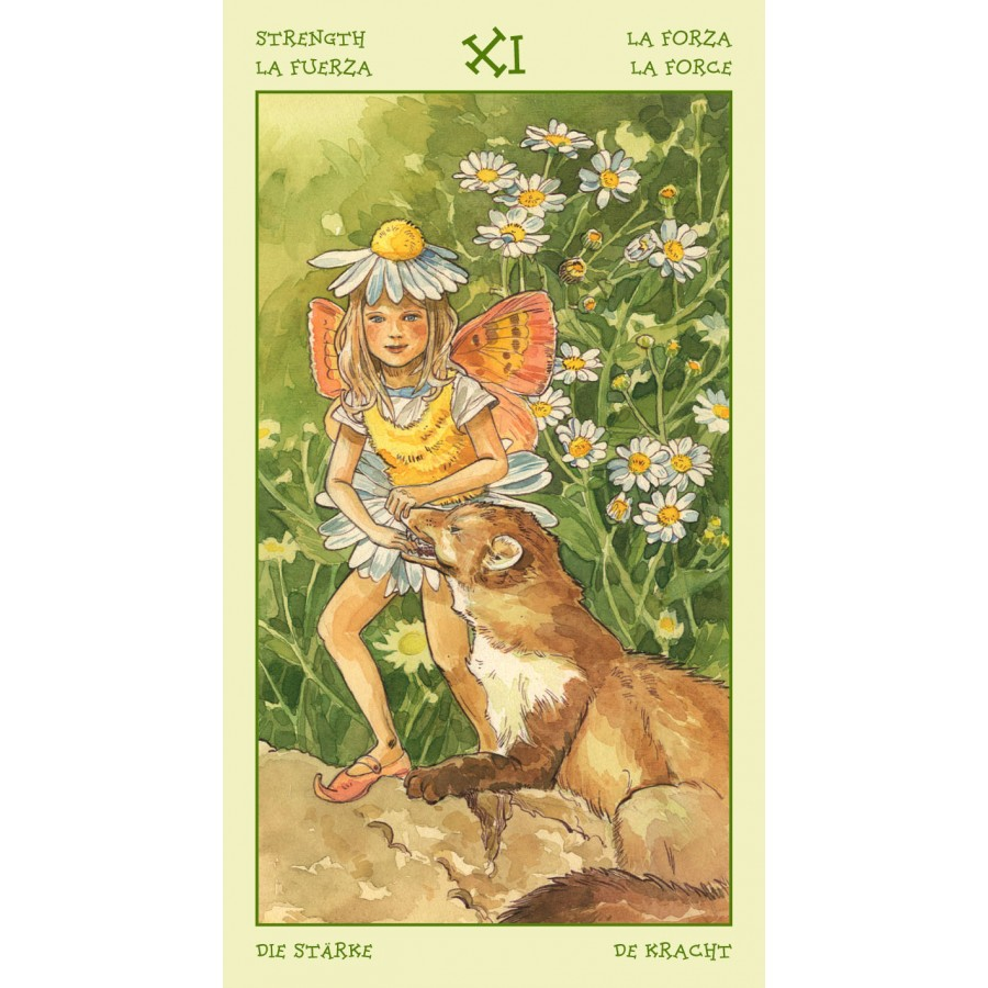 Spirit of Flowers Tarot 8