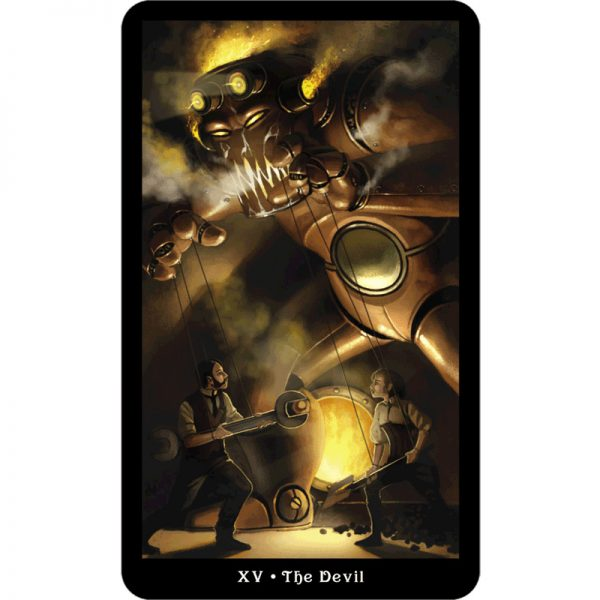 Steampunk Tarot 5