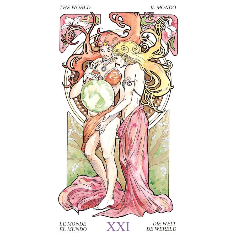 Tarot Art Nouveau 11